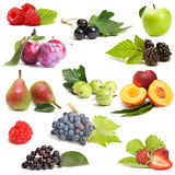 Sweet fruits set Royalty Free Stock Photography
