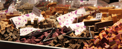 Sweet Fudge for Sale. Royalty Free Stock Image