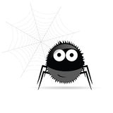 Sweet and funny spider vector illustration Stock Photography