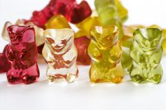 Sweet gell Royalty Free Stock Image