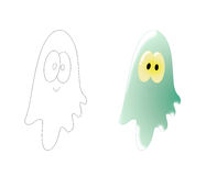 Sweet ghost Royalty Free Stock Photos