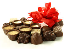 Sweet gift Stock Images