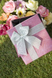 Sweet gift box Stock Photo