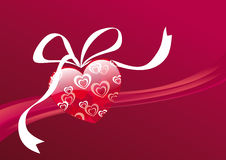 Sweet gift of heart. Royalty Free Stock Photo