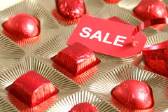 Sweet gift. Sale Royalty Free Stock Image