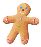 Sweet Gingerbread Man Stock Photography