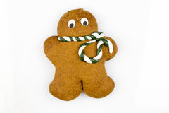 Sweet gingerbread man Royalty Free Stock Images