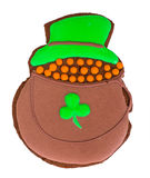 Sweet Gingerbread for St. Patricks Day Stock Images