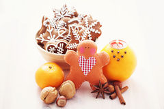 Sweet gingerbreads Royalty Free Stock Image