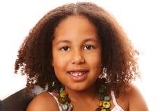 Sweet Girl Smiling Stock Photos