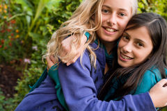 Sweet girlfriends Royalty Free Stock Photography