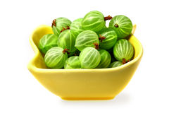 Sweet    gooseberries Stock Photo