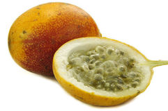 Sweet granadilla fruit Royalty Free Stock Image