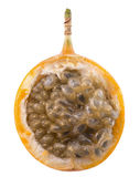Sweet granadilla or grenadia isolated on the white background Stock Photography