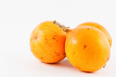 Sweet granadilla Passiflora ligularis royalty free stock image