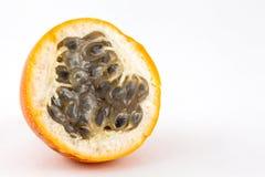 Sweet granadilla Passiflora ligularis stock image