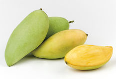 Sweet and great taste of the mangos Stock Photography