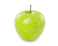 Sweet green apple Stock Images