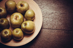 Sweet green apples Royalty Free Stock Image