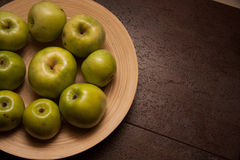 Sweet green apples Royalty Free Stock Photography