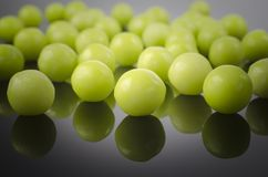 Sweet green dragees Royalty Free Stock Image