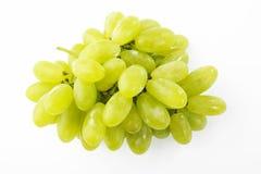 Sweet green grape bunch Royalty Free Stock Image