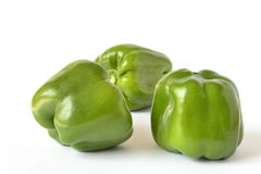 Sweet green peppers Royalty Free Stock Photography