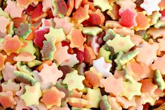 Sweet gummi candies Royalty Free Stock Images