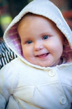 Sweet and happy baby girl Royalty Free Stock Images