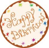 Sweet happy birthday Stock Photography