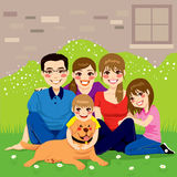 Sweet Happy Family Royalty Free Stock Photography