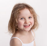 Sweet happy little girl Stock Photography