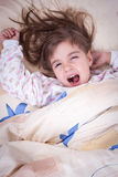 Sweet happy little girl sleeping Royalty Free Stock Photo