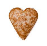 Sweet heart. Isolated on the white background Royalty Free Stock Photography