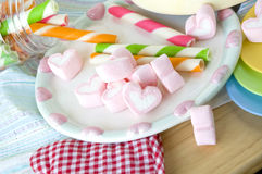 Candy party Stock Images