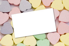 Sweet Heart Message Royalty Free Stock Photo