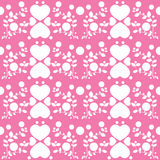Sweet heart pattern Royalty Free Stock Images