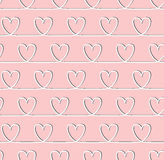 Sweet heart seamless pattern. For valentines, day Royalty Free Stock Image