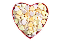 Sweet heart surprise Stock Images