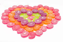 Sweet heart for valentine day stock images
