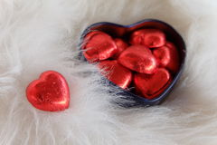 Sweet heart. Valentine card. Royalty Free Stock Image