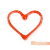 Sweet heart, vector illustration Royalty Free Stock Image