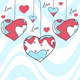 Sweet hearts Royalty Free Stock Photos
