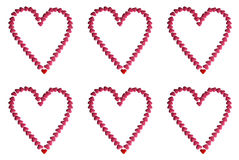 Sweet hearts Stock Image