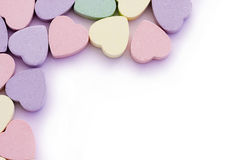 Sweet Hearts Edging Border Stock Images