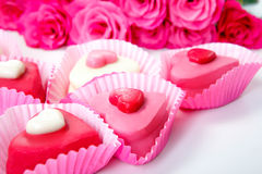 Sweet hearts Stock Images