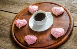 Sweet hearts on Valentine's Day celebration Stock Photo