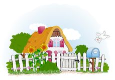 Sweet Home stock illustration