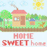 Sweet home Royalty Free Stock Photos