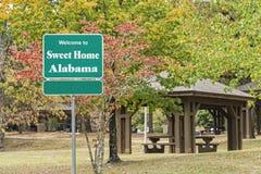 Sweet Home Alabama Stock Photo